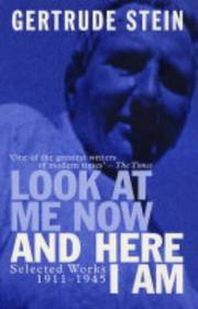 Cover of: Look at Me Now and Here I Am