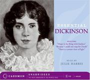 Cover of: Essential Dickinson CD