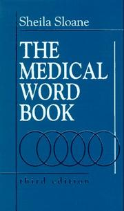 Cover of: The medical word book