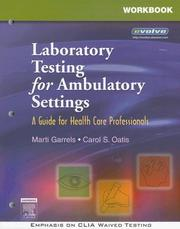 Cover of: Workbook for Laboratory Testing for Ambulatory Settings | Marti Garrels