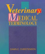 Cover of: Veterinary medical terminology