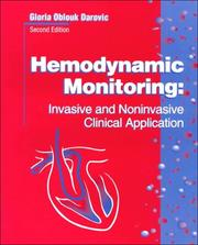 Cover of: Hemodynamic monitoring