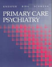 Cover of: Primary care psychiatry