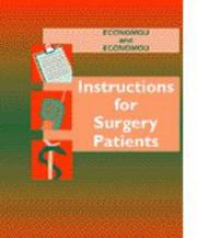 Cover of: Instructions for surgery patients