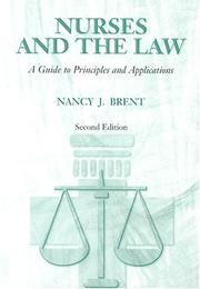 Cover of: Nurses and the law