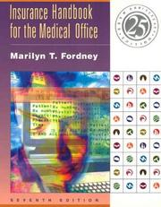 Cover of: Insurance Handbook for the Medical Office, Seventh Edition