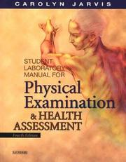 Cover of: Student Laboratory Manual for Physical Examination and Health Assessment