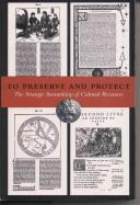 Cover of: To preserve and protect |