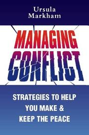 Cover of: Managing Conflict