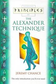 Cover of: Principles of the Alexander Technique