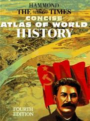 Cover of: TIMES CONCISE ATLAS OF WORLD HISTORY