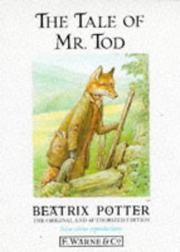 Cover of: The tale of Mr. Tod | Jean Little