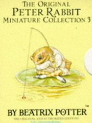 Cover of: The Original Peter Rabbit Miniature Collection (Mini-pack, Potter)
