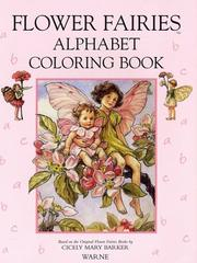 Cover of: The Flower Fairies Alphabet Coloring Book | Cicely Mary Barker