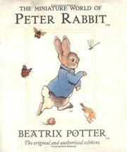 Cover of: Miniature World of Peter Rabbit