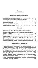 Cover of: Economic espionage, technology transfers, and national security: Hearing before the Joint Economic Committee, Congress of the United States, One Hundred ... first session, June 17, 1997 (S. hrg)
