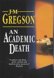 Cover of: An Academic Death (Lambert and Hook Mysteries)