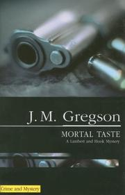 Cover of: Mortal Taste (Lambert and Hook Mysteries)