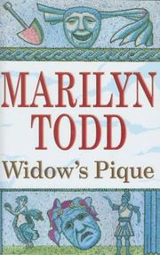 Cover of: Widow's Pique