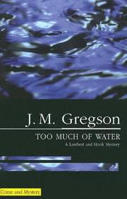 Cover of: Too Much of Water (Lambert and Hook Mysteries)