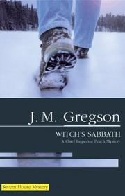 Cover of: The Witch's Sabbath (Peach and Blake)