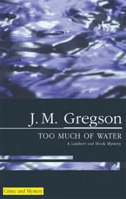 Cover of: Too Much of Water