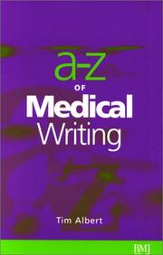 Cover of: The A-Z of Medical Writing