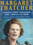 Cover of: Margaret Thatcher Complete Public Statements 1945-1990