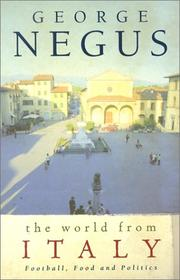 Cover of: The World from Italy
