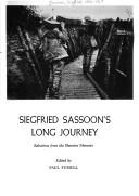Cover of: Siegried Sassoon's Long Journey: Selections from the Sherston Memoirs