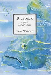 Cover of: Blueback - A Fable For All Ages