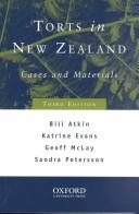 Cover of: Torts in New Zealand | Bill Atkin