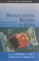 Cover of: Broadcasting reform in India |