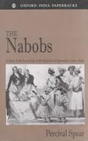 Cover of: The Nabobs | Percival Spear
