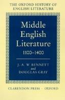 Cover of: Middle English Literature | J. A. W. Bennett