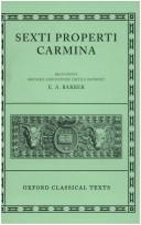 Cover of: Carmina (Oxford Classical Texts Ser)