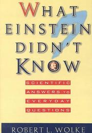 Cover of: What Einstein Didn