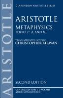 Cover of: Metaphysics |