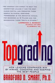Cover of: Topgrading