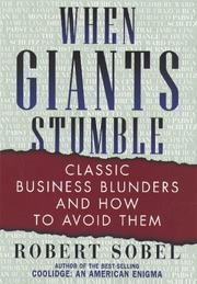 Cover of: When Giants Stumble by Robert Sobel