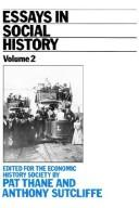 Cover of: Essays in social history