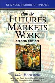 Cover of: How the futures markets work