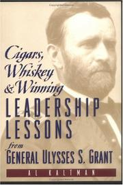 Cover of: Cigars, whiskey & winning