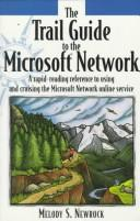Cover of: The trail guide to the Microsoft network | Melody Newrock