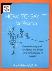 Cover of: How to say it for women