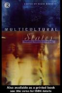 Cover of: MULTICULTURAL STATES