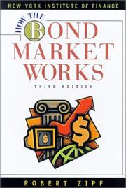 Cover of: How the bond market works