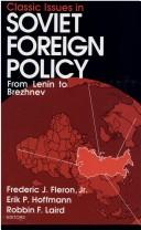 Cover of: Classic Issues in Soviet Foreign Policy |