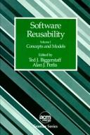 Cover of: Software reusability |