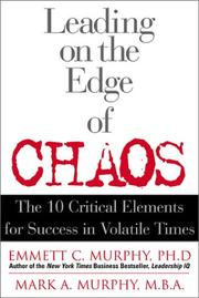 Cover of: Leadership at the edge of chaos